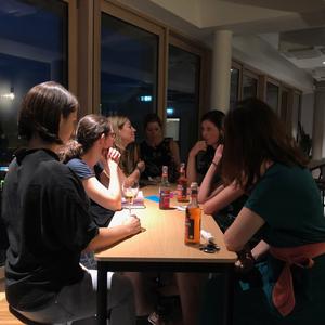 Gesprächsrunde New Work Salon (Quelle: Sparkassenfinanzportal | Ben Gockel)