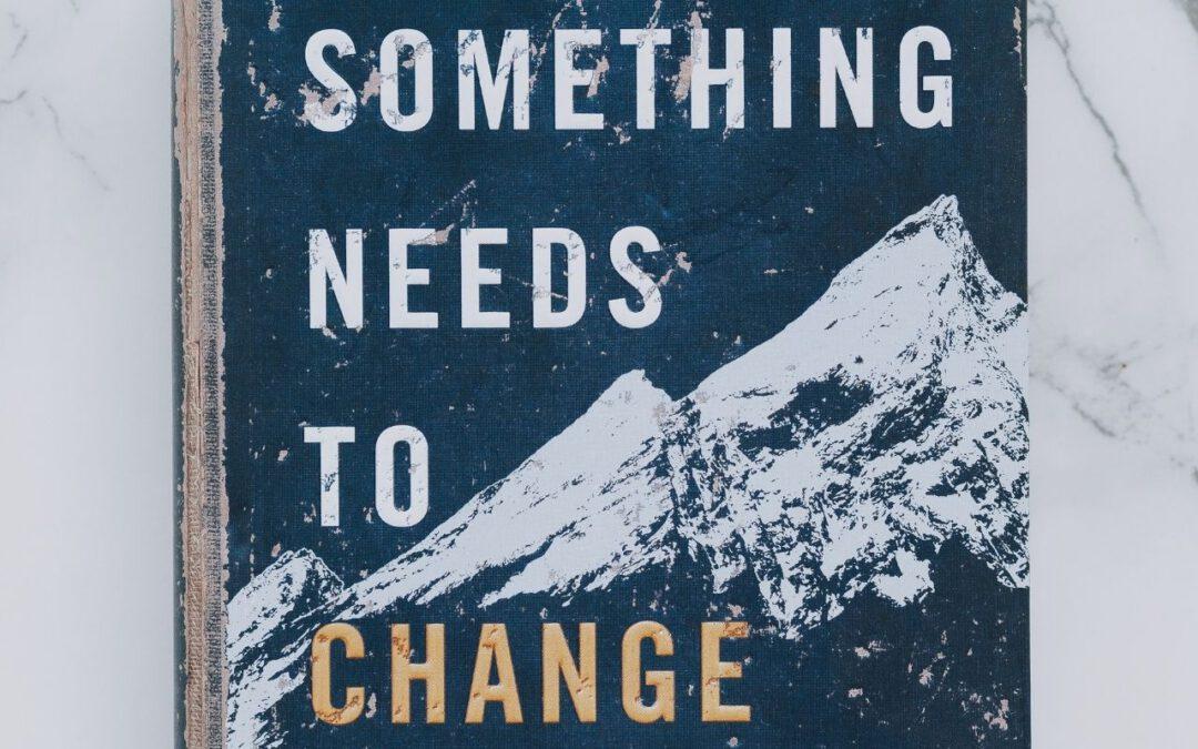 Something needs to change (Bild: Bluehouse Skis auf Unsplash)